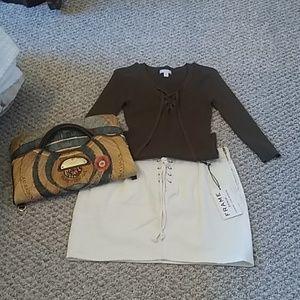 Frame Denim Skirt (skirt only)